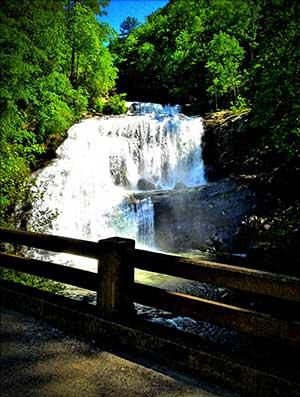Bald River Falls-Cherohala Skyway